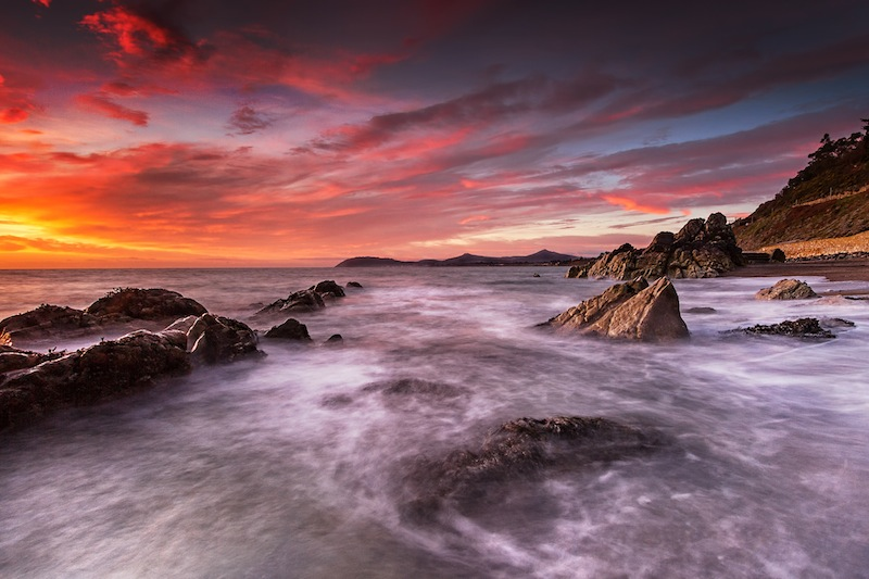 Under a Blood Red Sky, Graham Cashell, Greystones Camera Club