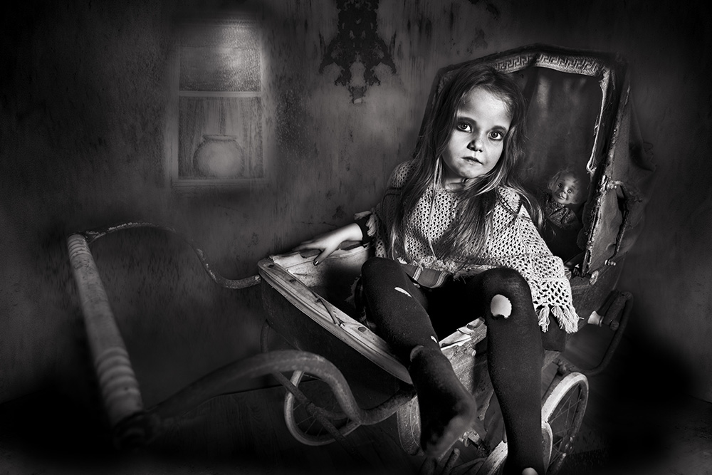Monochrome Print Individual  Honourable Mention -  Judy Boyle - 'Emily' - Drogheda Photographic Club.jpg