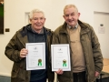 Martin Dorgan and John Tait with their LIPF certificates