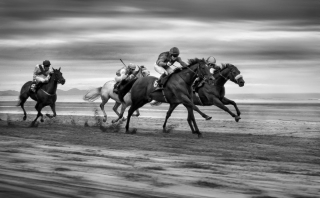 Highly Commended - Declan Gernon - Dundalk Photographic Society - Laytown Races