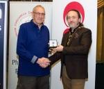 IPF President Michael O'Sullivan pictured with judge David Osborne
