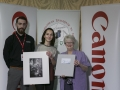 Philip Desmond from Canon Ireland and IPF Vice-President Lilian Webb pictured with award winner Emmanulle Galisson.jpg