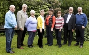 IPF AV Group committee - Christy Doyle, Brendan O'Sullivan, Lilian Webb, Margaret Finlay, Marie McGuinness, Rita Nolan, Edwin Bailey & Alan Lyons