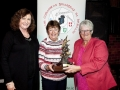 Mary O\'Loughlin, Rita Nolan & Lilian Webb with the Kieran O\'Loughlin Memorial Trophy won by Rita Nolan as the best overal sequence in AV2015