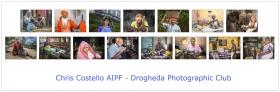 Chris Costello, AIPF, Drogheda Photographic Club