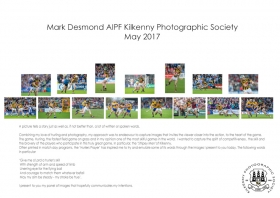 Mark Desmond AIPF, Kilkenny Photographic Society