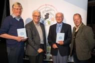 Howard Bagshaw, Judge,  Brendan O'Sullivan, IPF-AV Group Chairman Ron Davies Judge Dominic Reddin President