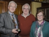 IPF President John Cuddihy with Denis Whelehan and Denis's wife Joan