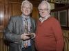 IPF President John Cuddihy with Denis Whelehan