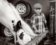 2 MONO- IPF- Frank Condra - Boy and Pony