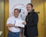 IPF President Michael O'Sullivan presenting first place monochrome panel to Drogheda Photographic Club.jpg