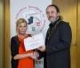 IPF President Michael O'Sullivan presenting individual monochrome honourable mention to Judy Boyle.jpg