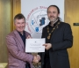 IPF President Michael O'Sullivan presenting third place overall to Dundalk Photographic Society.jpg