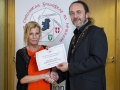 IPF President Michael O'Sullivan presenting individual monochrome honourable mention to Judy Boyle.jpg