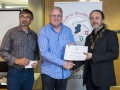 IPF President Michael O'Sullivan presenting second place monocrhome panel to Creative Photo Imaging Club.jpg