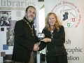 IPF President Michael O'Sullivan pictured presenting Judges' Medal to judge Anne Sutcliffe