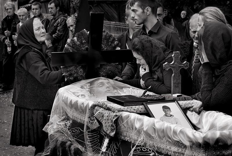 Gold Medal - Monochrome - The Wake of Dani Popan - John Butler - Drogheda Photographic Club