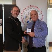 Teddy Sugrue on behalf of John Hooton (Bronze Medal Individual Colour)