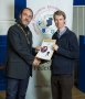IPF President Michael O'Sullivan presenting AIPF distinction to Kevin Grace.jpg
