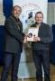 IPF President Michael O'Sullivan presenting FIPF distinction to Arthur Carron.jpg