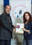 IPF President Michael O'Sullivan presenting LIPF distinction to Sigita Playdon.jpg