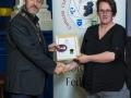 IPF President Michael O'Sullivan presenting LIPF distinction to Denise Murphy.jpg