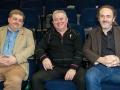 Adjudicators Bill Power, Gabriel O'Shaughnessy and Michael O'Sullivan