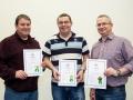 John Burke, John Carey and Trevor O'Toole from Thurles Camera Club