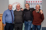 IPF President Michael O'Sullivan pictured with Pakie O'Donohue, Jim McSweeney & Christopher Bourke