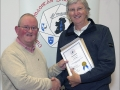 IPF Distinctions Chairman pictured presenting AIPF distinction to David Whitaker