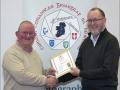 IPF Distinctions Chairman pictured presenting LIPF distinction to Richard Boyle