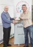 IPF Vice President Sheamus O'Donoghue presenting licentiateship distinction to Noel Dunne