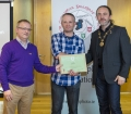 IPF President Michael O'Sullivan & IPF FIAP Liaison Officer Paul Stanley presenting AFIAP distinction to Carl Cutland.jpg