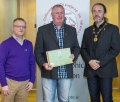 IPF President Michael O'Sullivan & IPF FIAP Liaison Officer Paul Stanley presenting AFIAP distinction to Jarlath Judge.jpg