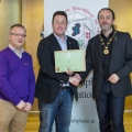 IPF President Michael O'Sullivan & IPF FIAP Liaison Officer Paul Stanley presenting AFIAP distinction to Joe Doyle.jpg