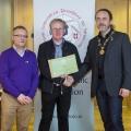 IPF President Michael O'Sullivan & IPF FIAP Liaison Officer Paul Stanley presenting AFIAP distinction to John Dunne.jpg