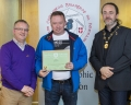 IPF President Michael O'Sullivan & IPF FIAP Liaison Officer Paul Stanley presenting EFIAP distinction to Paul Maher.jpg