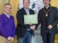 IPF President Michael O'Sullivan & IPF FIAP Liaison Officer Paul Stanley presenting AFIAP distinction to Joe Doyle.jpg