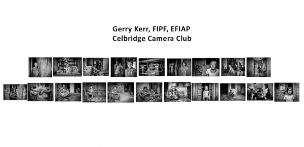 Gerry Kerr FIPF, Celbridge Camera Club