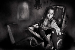 Best Monochrome Print - Judy Boyle - 'Emily' - Drogheda Photographic Club, IPF