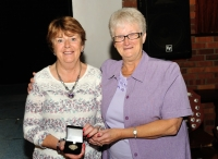 Rita Nolan, LIPF, 3rd place in All Ireland & 2nd in Intermediate Sections of AV2014 with Lilian Webb, AIPF, Vice President, IPF.