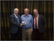 Cliff Hutchinson, AIPF, IPF Founding Member (Centre), Celbridge CC