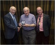 Michael O'Sullivan (Centre) IPF Founding Member  Westport C.C.