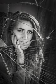 Monochrome Print - HM - Rebecca Mathews - Shattered - Celbridge Camera Club
