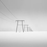 Gold Medal Monochrome - Janet Wippell - Pylons - Offshoot Photographic Society