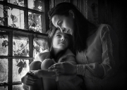 Monochrome Honourable Mention - Terry Conroy - Portlaoise Camera Club - Aimzele Gaze