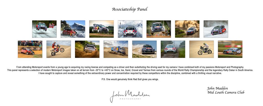 John Madden, AIPF, Mid-Louth Camera Club