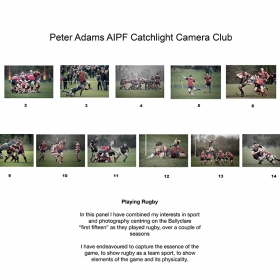 Peter Adams, AIPF, Catchlight Camera Club