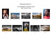Thomas Quilty LIPF, Waterford Camera Club