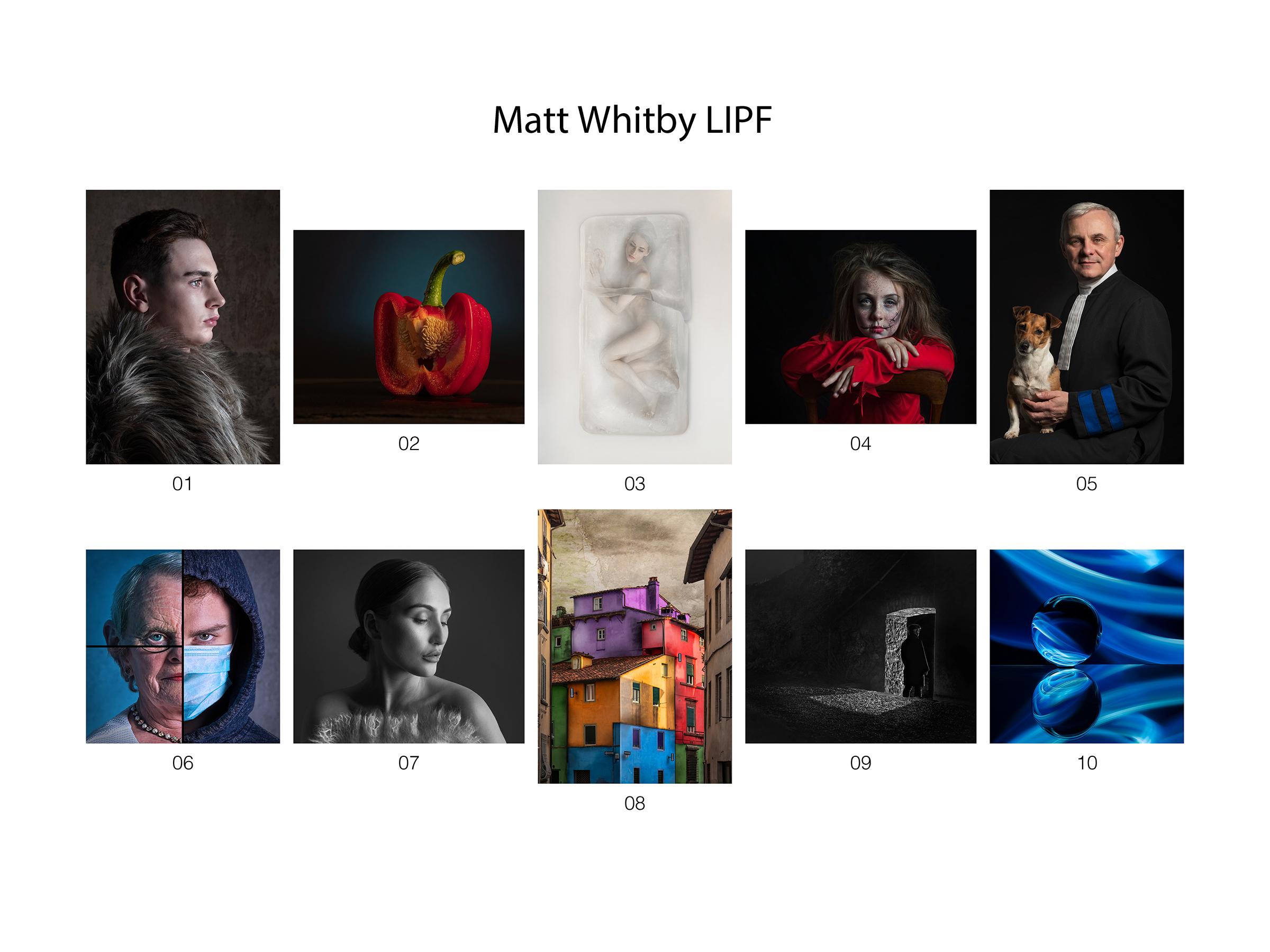 Matt Whitby, LIPF,  Kilkenny Photographic Society